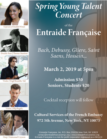 Entraide Francaise young talent