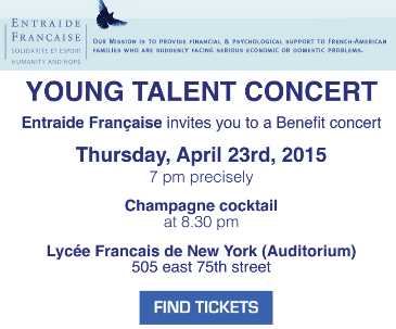 Entraide Fran�aise young talent concert